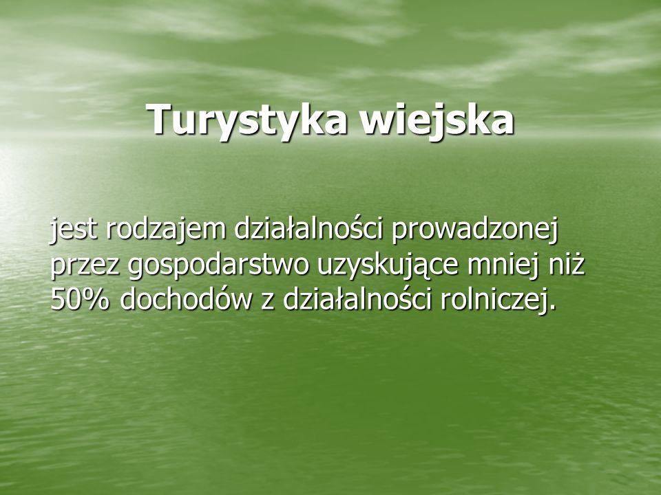 Województwo podlaskie posiada znakomite walory i warunki do rozwijania agroturystyki.