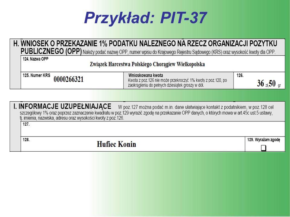 Przykład: PIT-37