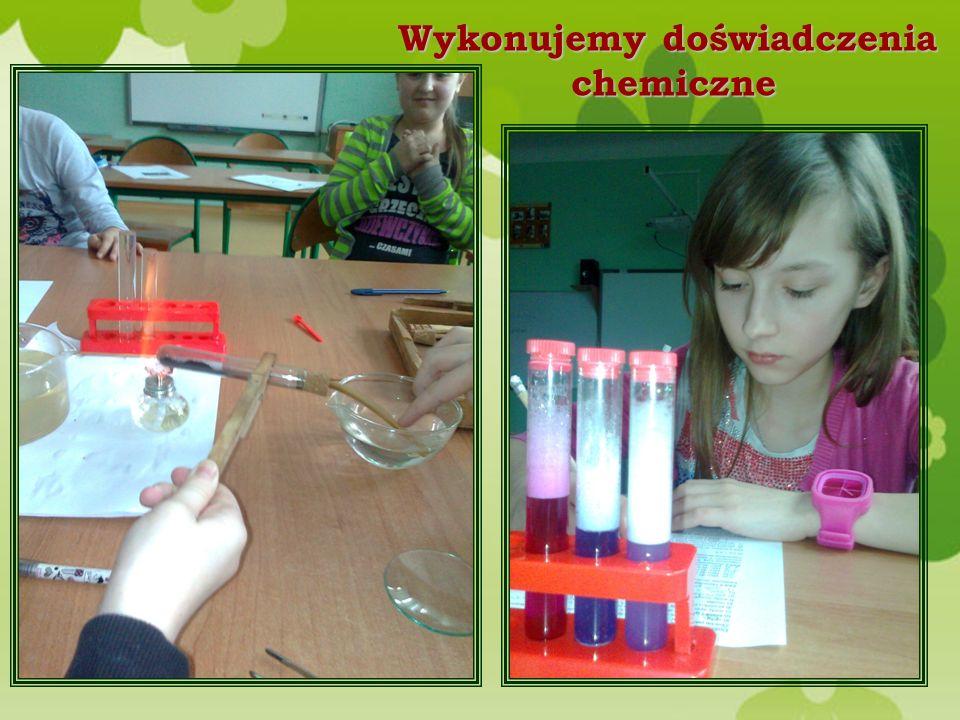 Wykonujemy doświadczenia chemiczne