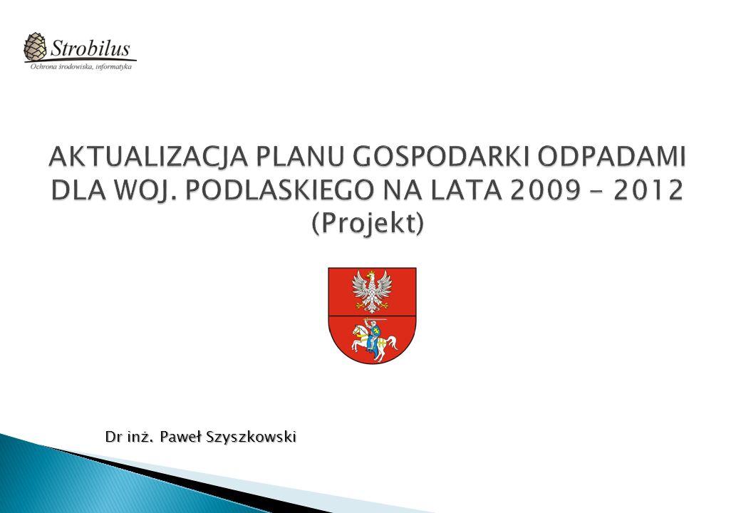 Dr inż. Paweł Szyszkowski