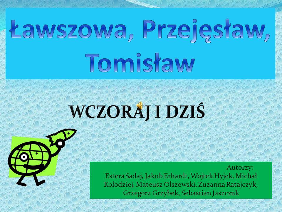 1.Strona tytułowa 2.Spis treści.3.Ławszowa – informacje ogólne.