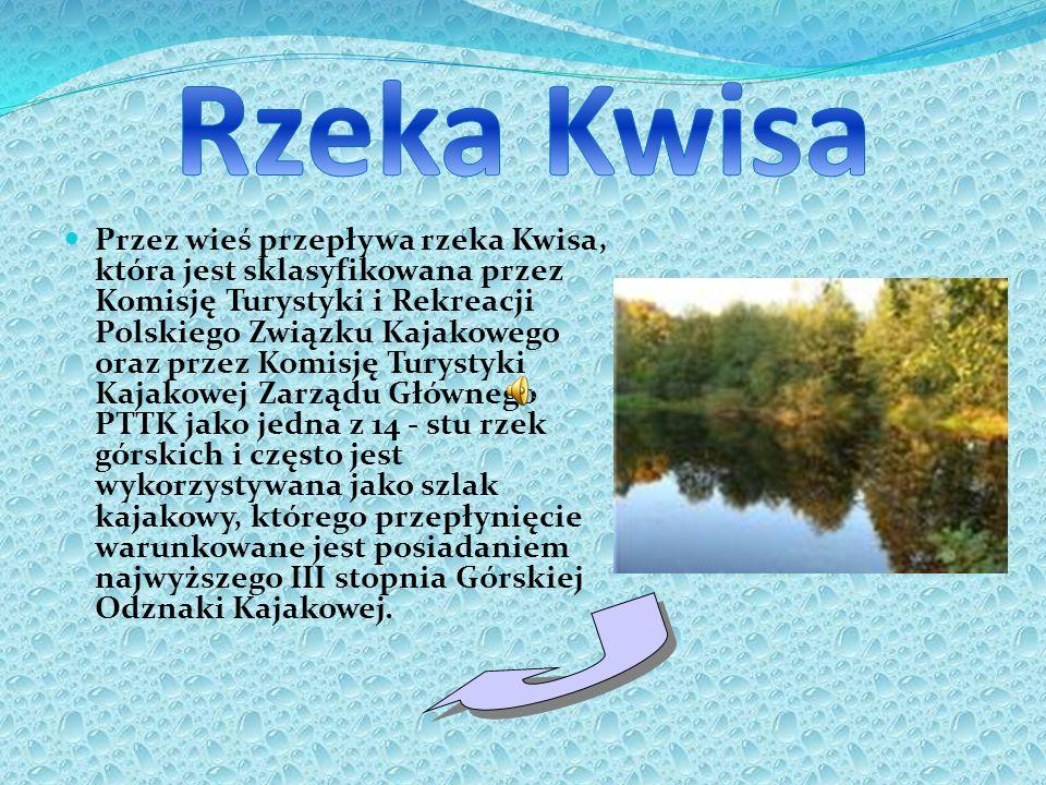 Przez wieś przepływa rzeka Kwisa, która jest sklasyfikowana przez Komisję Turystyki i Rekreacji Polskiego Związku Kajakowego oraz przez Komisję Turyst