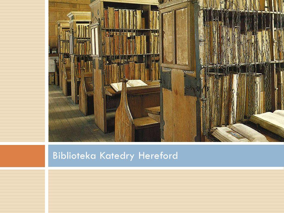 Biblioteka Katedry Hereford