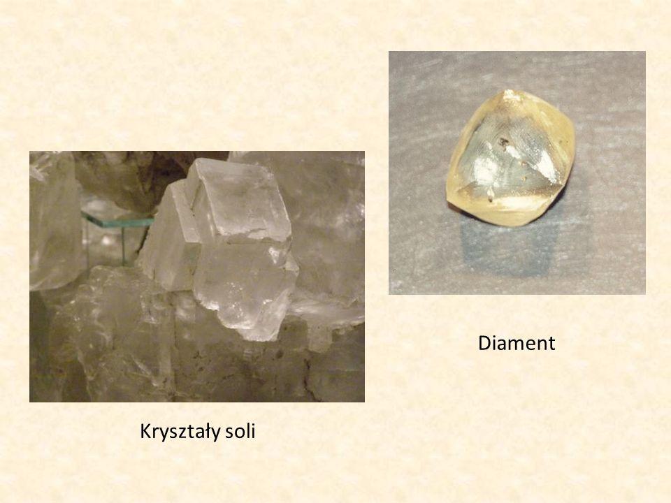 Kryształy soli Diament