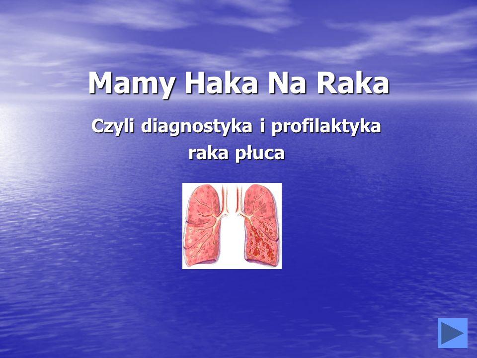 Mamy Haka Na Raka Czyli diagnostyka i profilaktyka raka płuca