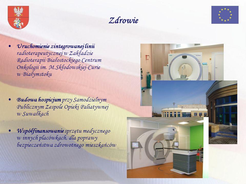 Zdrowie Uruchomienie zintegrowanej linii radioterapeutycznej w Zakładzie Radioterapii Białostockiego Centrum Onkologii im.