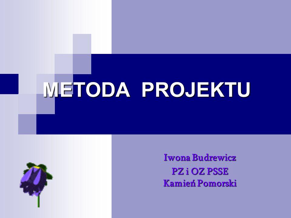 METODA PROJEKTU METODA PROJEKTU Metoda projektu należy do metod aktywizujących i pozwala na łączenie różnych treści w spójną całość, na inspirowanie uczniów do pracy twórczej i samodzielności w działaniu, na praktyczne zastosowanie wiedzy i umiejętności w życiu codziennym.