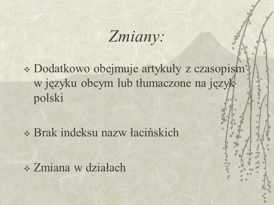 Bibliografia Polskiego Piśmiennictwa Zagadnień Gospodarki Żywnościowej Kontynuacja Bibliografii Polskiego Piśmiennictwa Rolniczego od tomu za rok 1985