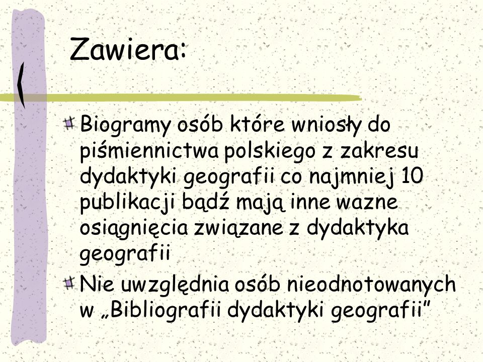 Słownik biograficzny polskich dydaktyków geografii Mariola Tracz, Sławomir Piskorz Wydawnictwa Edukacyjne Kraków 1999