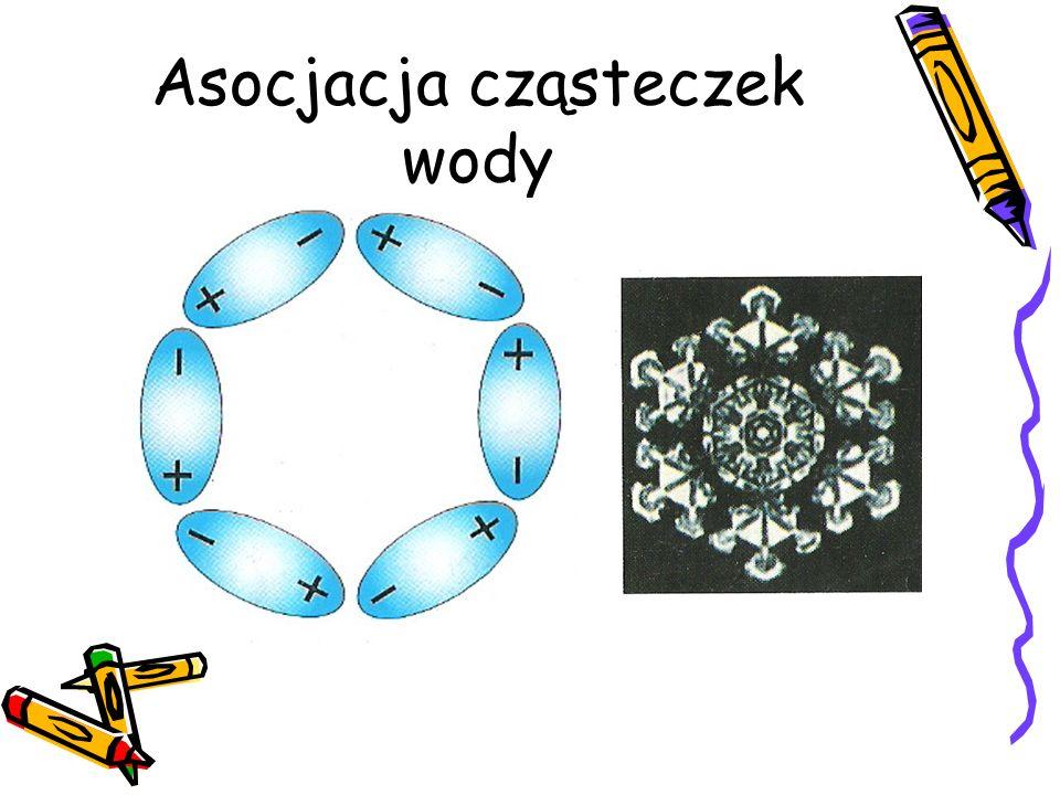 Asocjacja cząsteczek wody