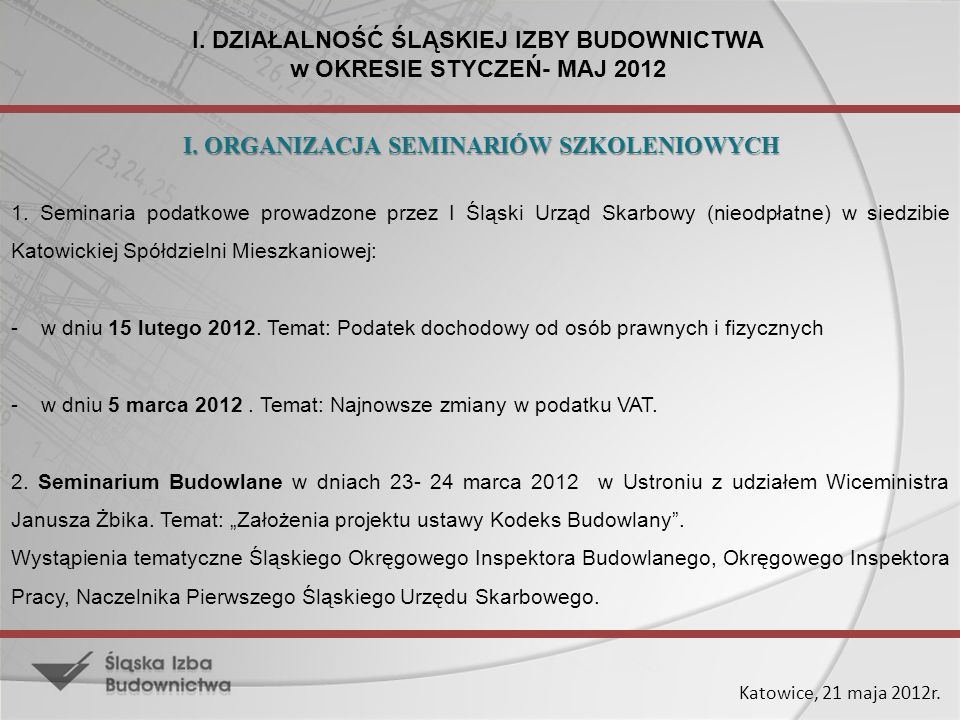 Katowice, 21 maja 2012r.3.