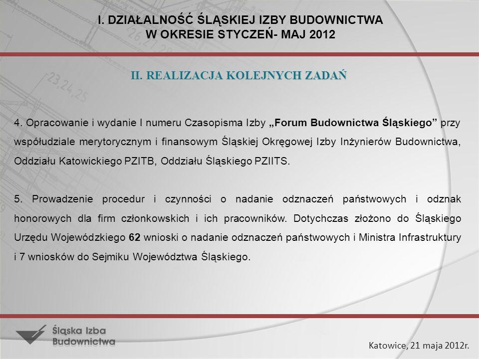 Katowice, 21 maja 2012r.1.
