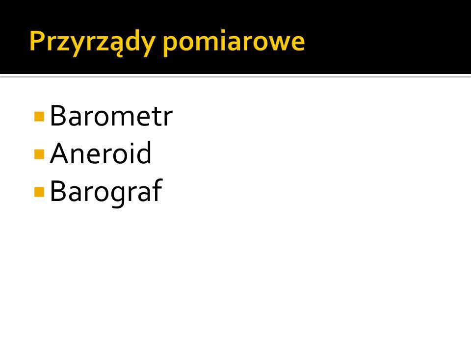 Barometr Aneroid Barograf