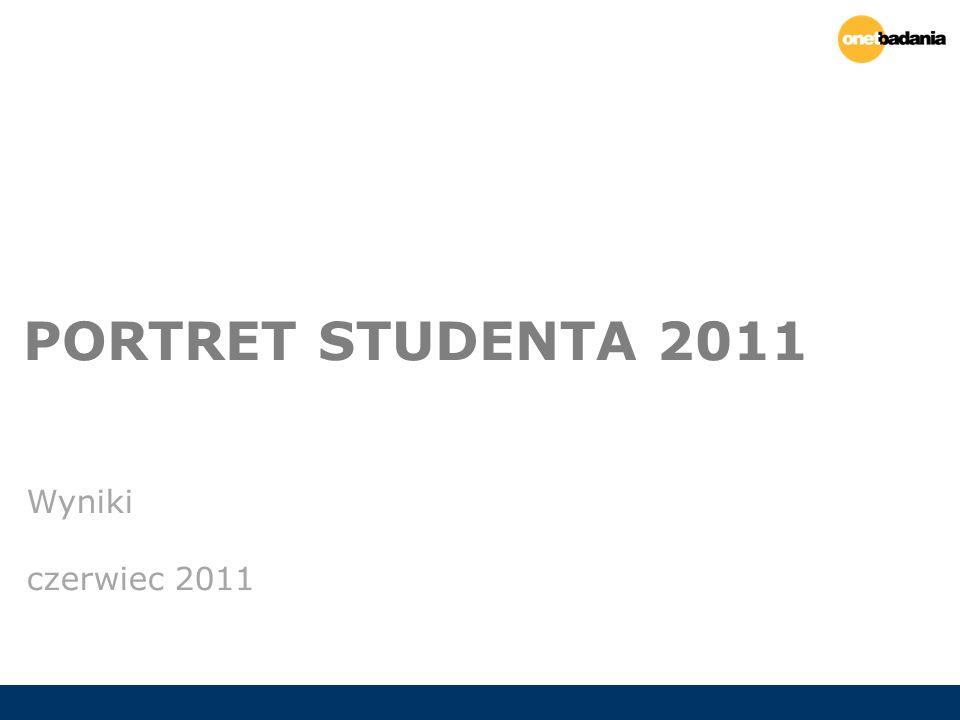 PORTRET STUDENTA 2011 Wyniki czerwiec 2011