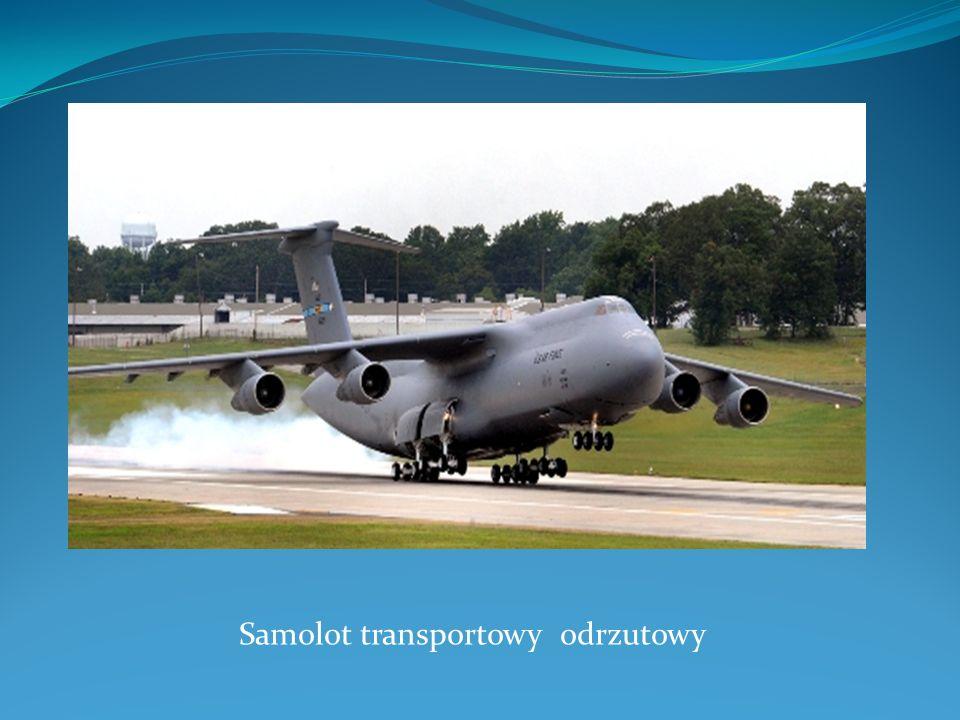 Samolot transportowy odrzutowy