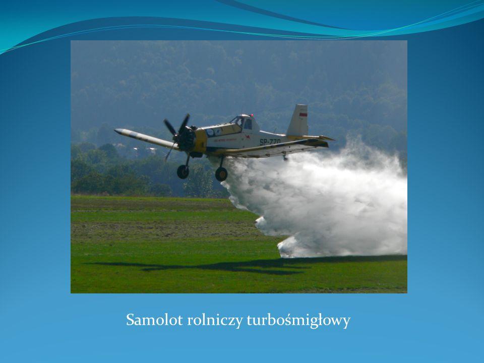 Samolot rolniczy turbośmigłowy