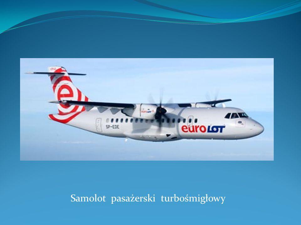 Samolot pasażerski turbośmigłowy
