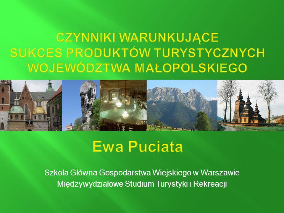 Szkoła Główna Gospodarstwa Wiejskiego w Warszawie Międzywydziałowe Studium Turystyki i Rekreacji