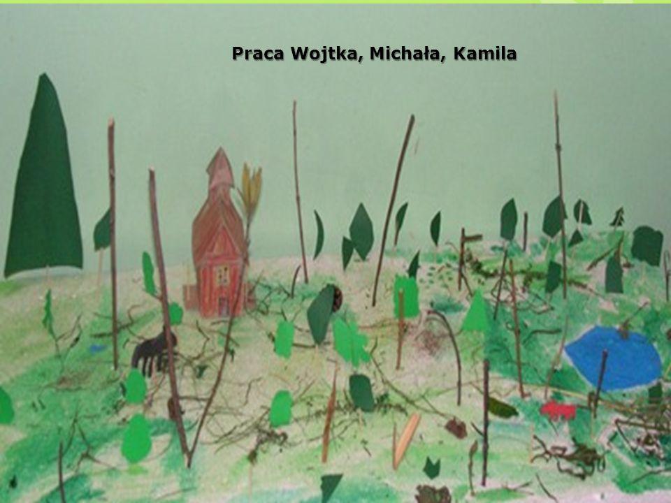 Praca Wojtka, Michała, Kamila