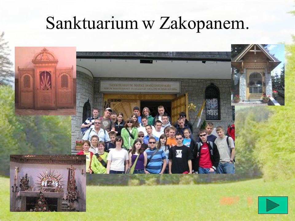 Sanktuarium w Zakopanem.