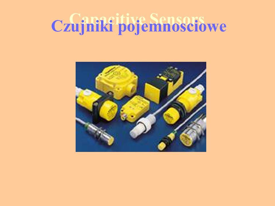 Zasada działania Pojemność kondensatora zależy od materiału przez który przenika pole elektryczne.