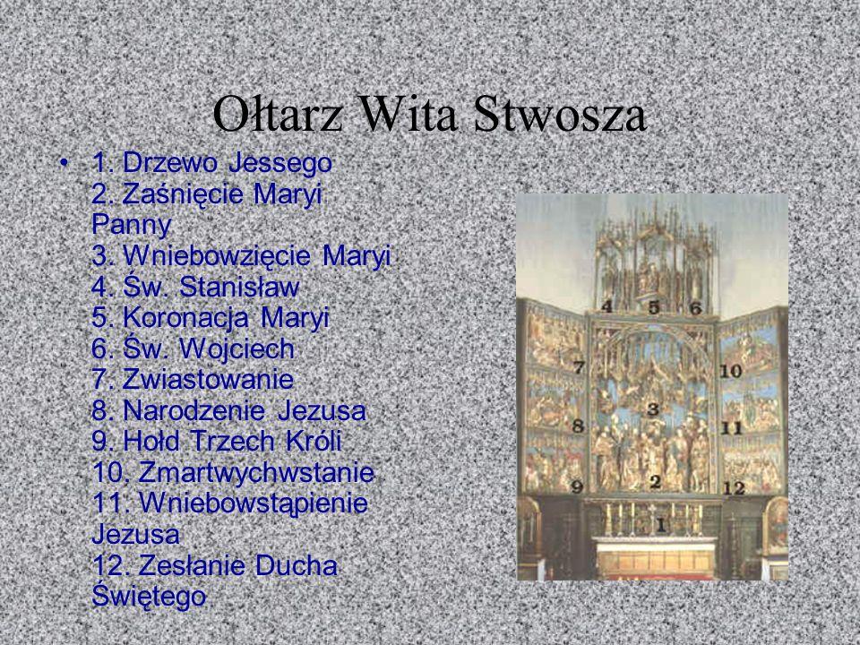 Wit Stwosz rozpoczął prace około 25 maja 1477 a ukończył w lipcu 1489 roku.
