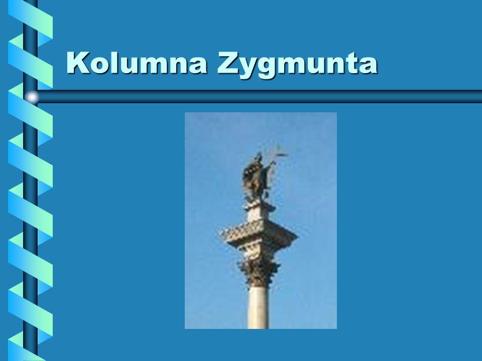 Historia Monument powstał za sprawą króla Władysława IV, który postanowił upamiętnić w ten sposób postać swojego ojca - Zygmunta III Wazy, dzięki któremu Warszawa stała się miastem stołecznym.Monument powstał za sprawą króla Władysława IV, który postanowił upamiętnić w ten sposób postać swojego ojca - Zygmunta III Wazy, dzięki któremu Warszawa stała się miastem stołecznym.