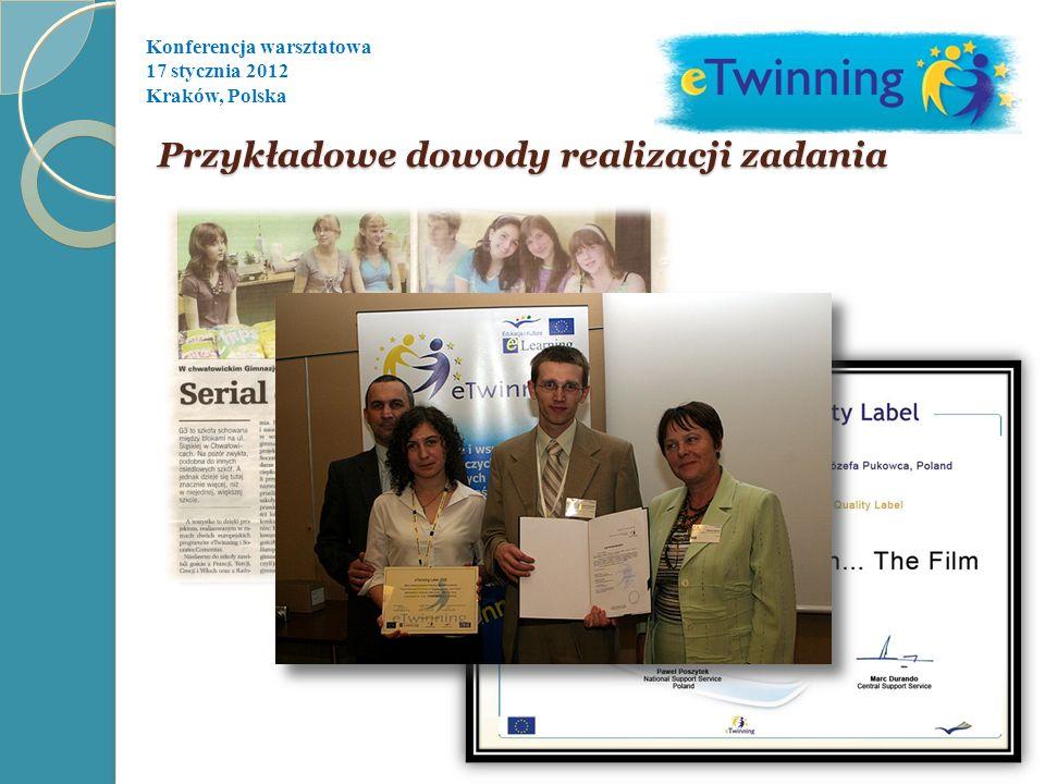 Konferencja warsztatowa 17 stycznia 2012 Kraków, Polska