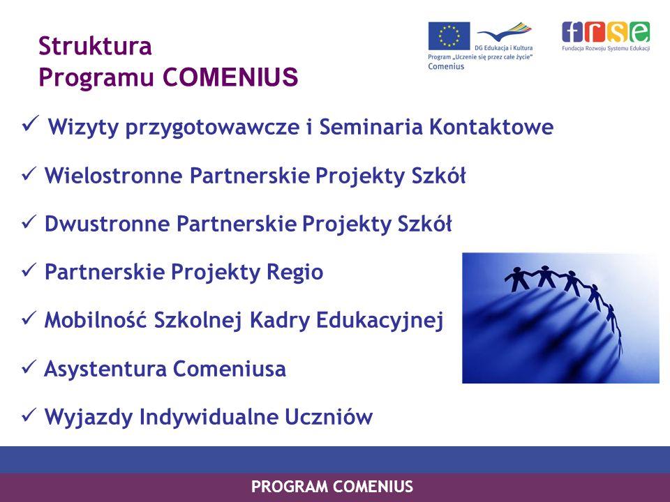 udzielenie informacji o możliwościach współpracy europejskiej w dziedzinie, której dotyczy seminarium; umożliwienie kontaktu osobom z różnych krajów europejskich i utworzenie przez nie grupy partnerskiej; udzielenie konkretnych informacji i wskazówek dotyczących opracowania projektu udzielenie praktycznych informacji np.