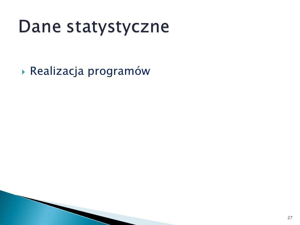 Realizacja programów 27