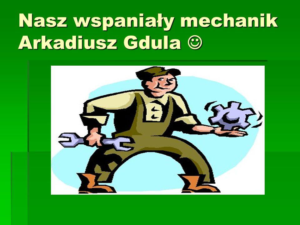 Nasza Obsługa Nasza Obsługa Nasz główny mechanik Arkadiusz Gdula, bezproblemowo naprawi każdy zepsuty motor. Nasz główny mechanik Arkadiusz Gdula, bez