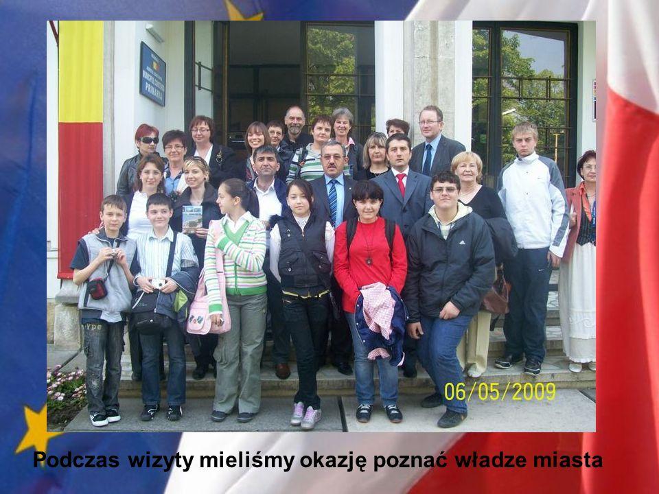 Podczas wizyty mieliśmy okazję poznać władze miasta