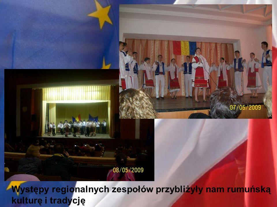 Występy regionalnych zespołów przybliżyły nam rumuńską kulturę i tradycję