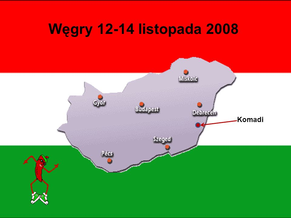 Węgry 12-14 listopada 2008 Komadi
