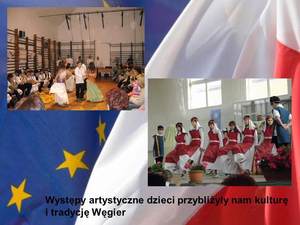 Występy artystyczne dzieci przybliżyły nam kulturę i tradycję Węgier