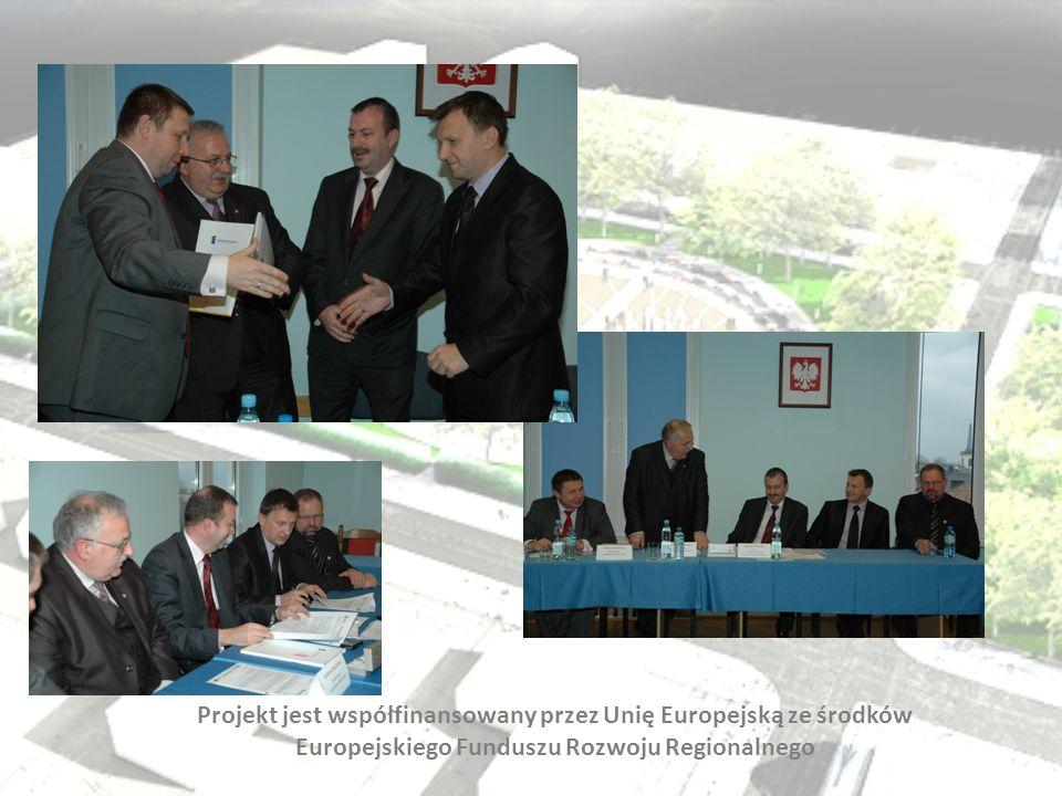 Projekt jest współfinansowany przez Unię Europejską ze środków Europejskiego Funduszu Rozwoju Regionalnego