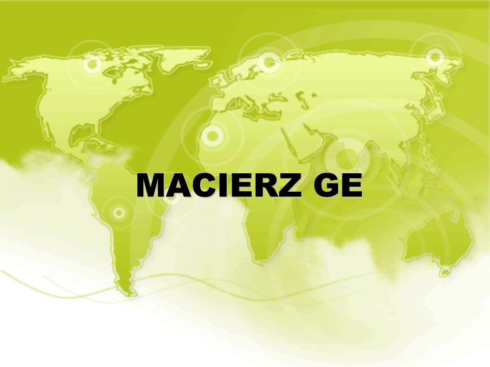 MACIERZ GE