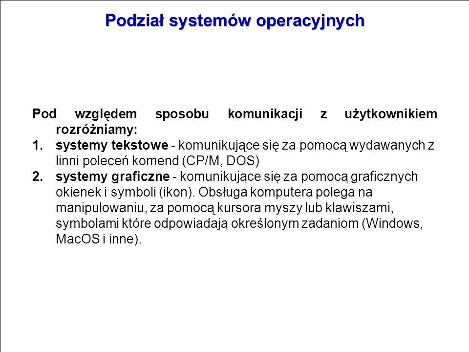 System operacyjny jest programem,który działa jako pośrednik miedzy użytkownikiem komputera a sprzętem komputerowym. System operacyjny nadzoruje i koo