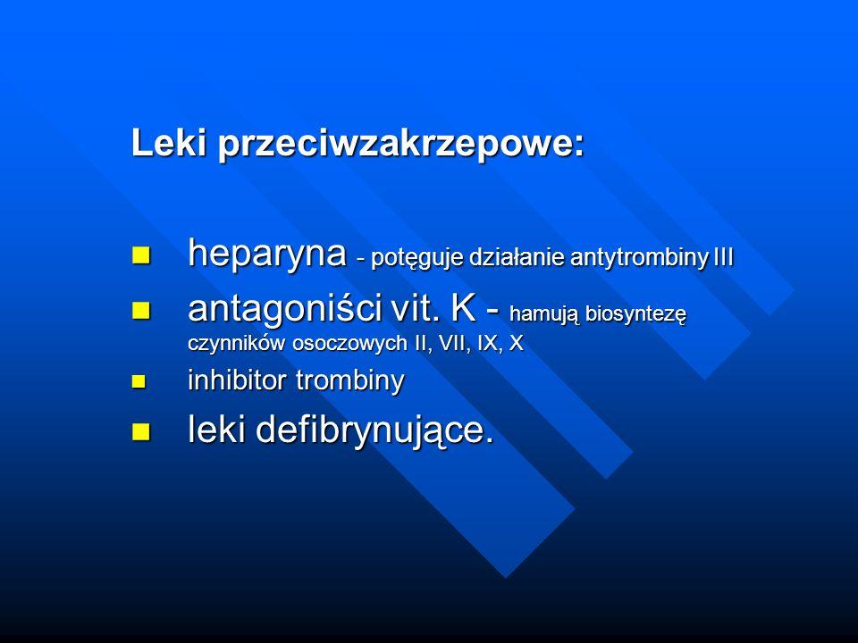 Antytrombina (III)