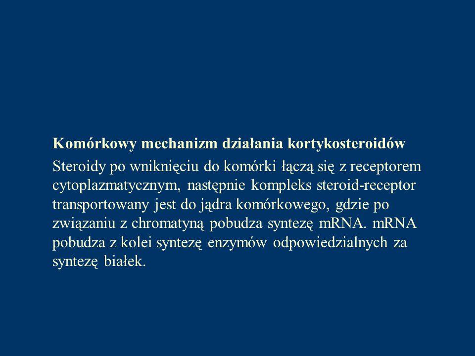 MINERALOKORTYKOSTEROIDY (MS) Grupa hormonów steroidowych produkowana i wydzielana przez warstwę kłębkowatą kory nadnerczy, o przeważającym działaniu mineralotropowym tzn.
