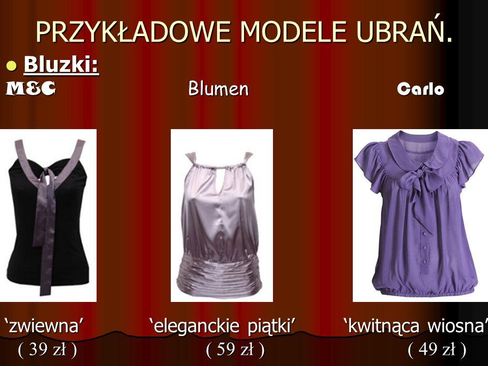 PRZYKŁADOWE MODELE UBRAŃ: Sukienki: Sukienki: Wolle Inidia Heaven Wolle Inidia Heaven wiosna Indiana johns rozkosz ( 79 zł ) ( 89 zł ) ( 89 zł ) ( 79 zł ) ( 89 zł ) ( 89 zł )