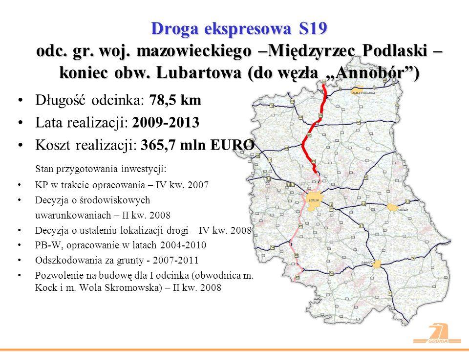Droga ekspresowa S19 odc.koniec obwodnicy m. Kraśnik – gr.