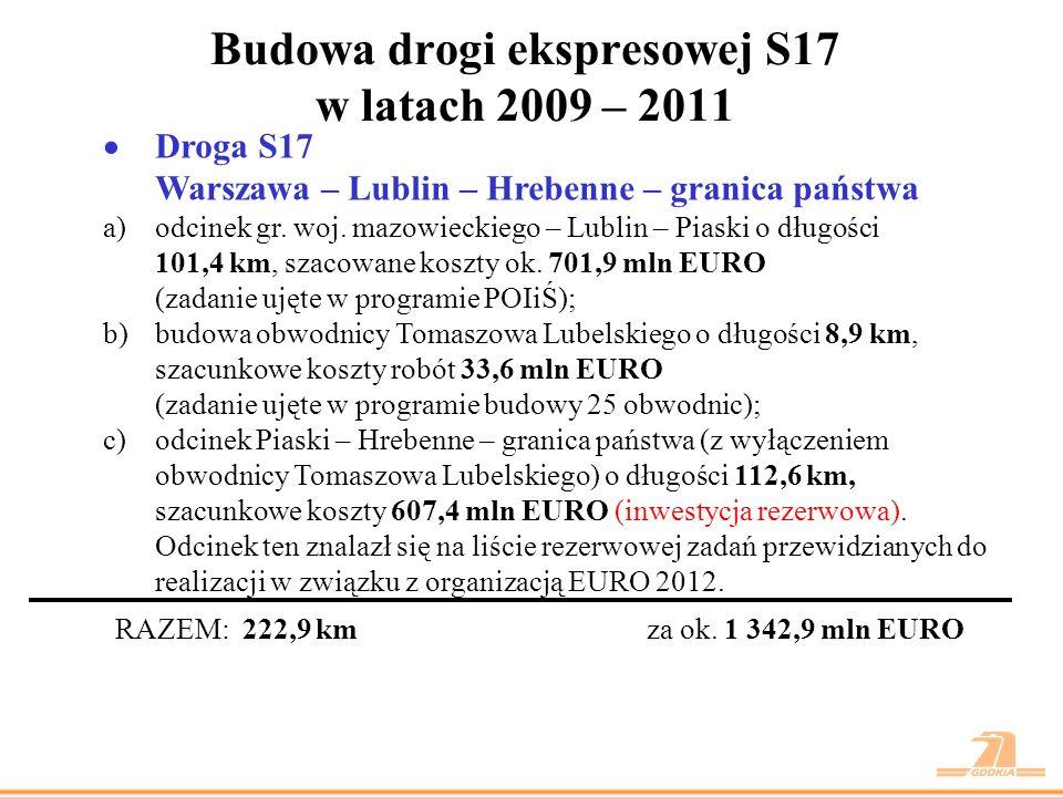 Droga ekspresowa S17 odc.gr. woj.