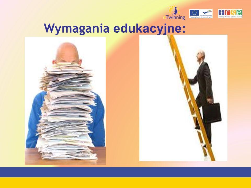 Wymagania edukacyjne :