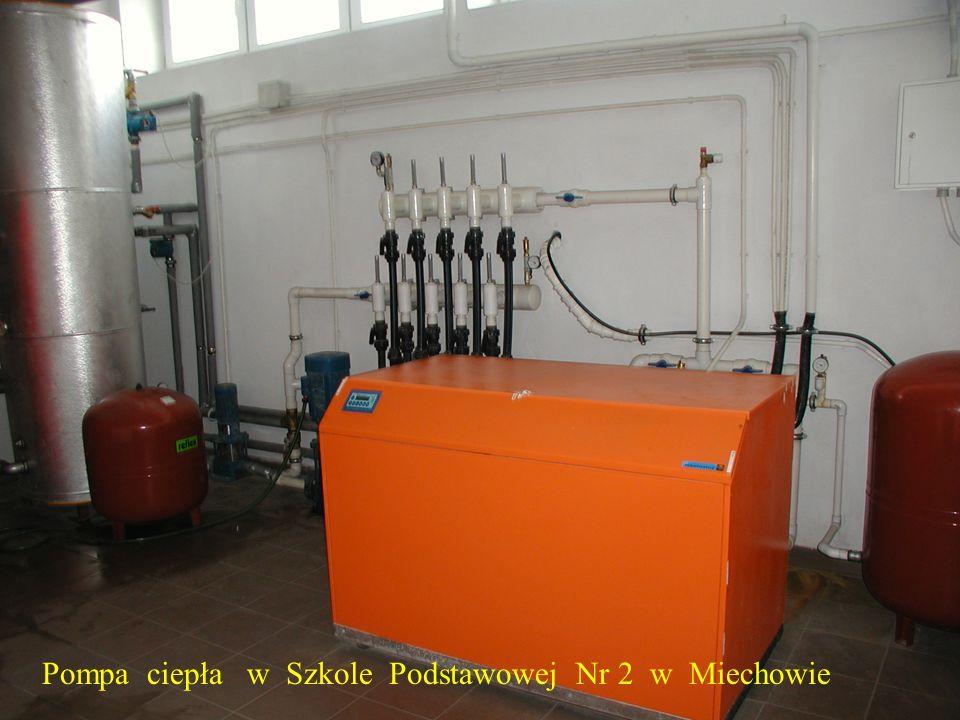Pompa ciepła w Szkole Podstawowej Nr 2 w Miechowie