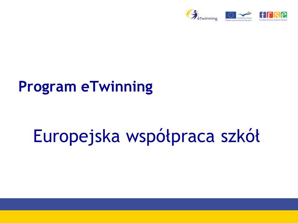 Program eTwinning Europejska współpraca szkół
