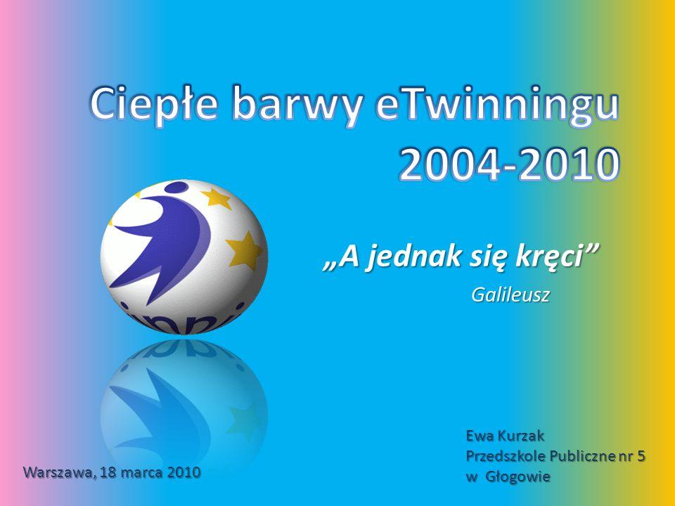 A jednak się kręci Galileusz Warszawa, 18 marca 2010 Ewa Kurzak Przedszkole Publiczne nr 5 w Głogowie