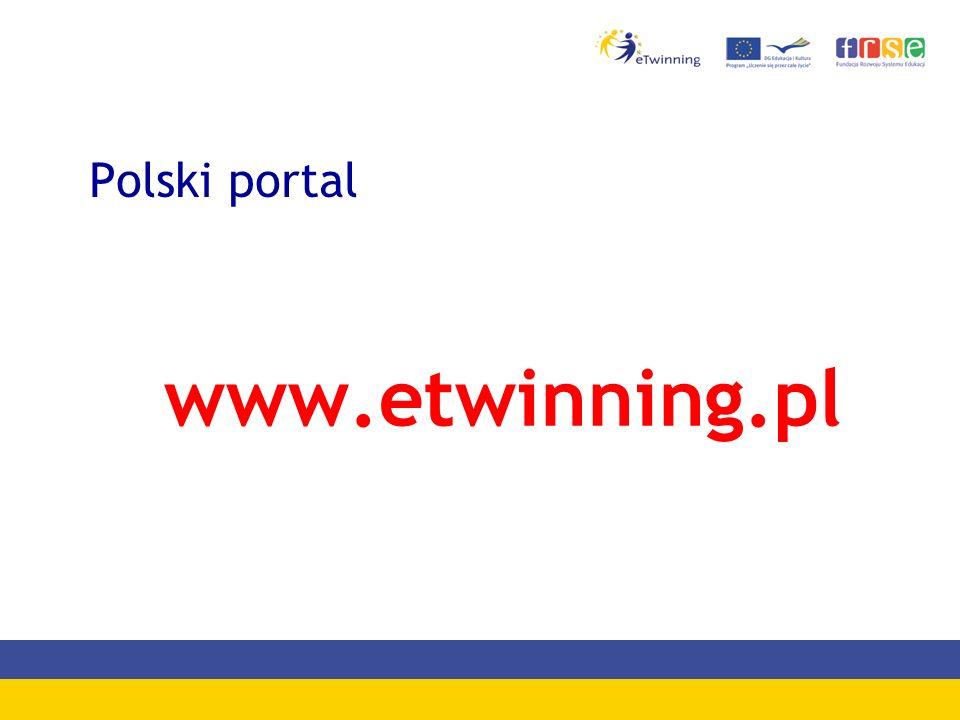 Polski portal www.etwinning.pl