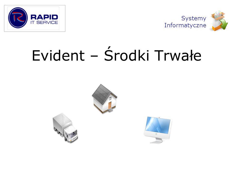 Evident – Środki Trwałe Systemy Informatyczne