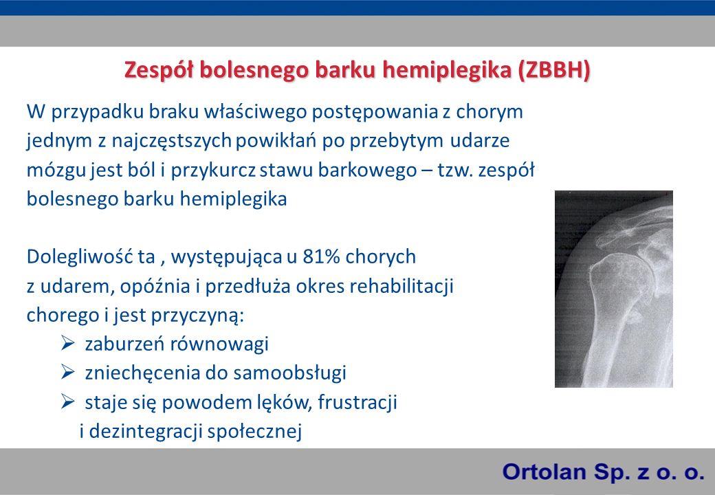 Najczęściej wymieniane w literaturze zmiany chorobowe towarzyszące ZBBH to: podwichnięcie głowy kości ramiennej (rozciągnięcie więzadła kruczo-ramiennego daje silne doznania bólowe) naderwanie stożka rotatorów konflikt stożka rotatorów z wyrostkiem barkowym łopatki uszkodzenie splotu barkowego zaburzenia ukrwienia i zrzeszotnienie kości zapalenie kaletki podbarkowej i ścięgna głowy długiej mięśnia dwugłowego